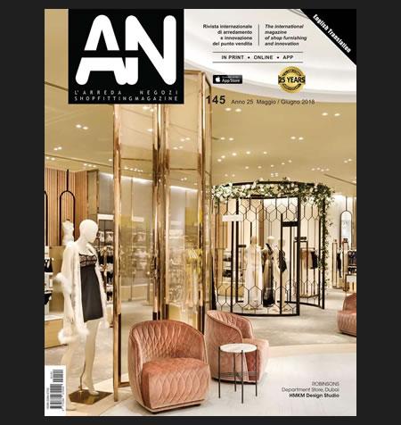 AN shopfitting magazine no 145