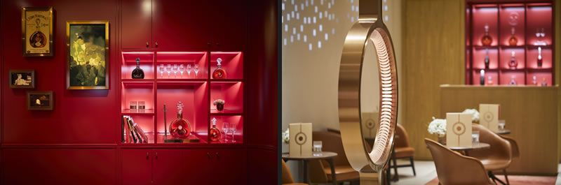 Designed by RDAI Architects the LOUIS XIII Boutique