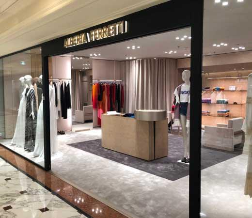 ALBERTA FERRETTI boutique monomarca Montecarlo