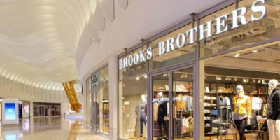 BROOKS BROTHERS: una boutique all'Icon Outlet at The O2 di Londra