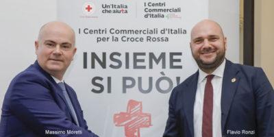 I Centri Commerciali e Croce Rossa Italiana insieme per una grande campagna di solidarietà nazionale