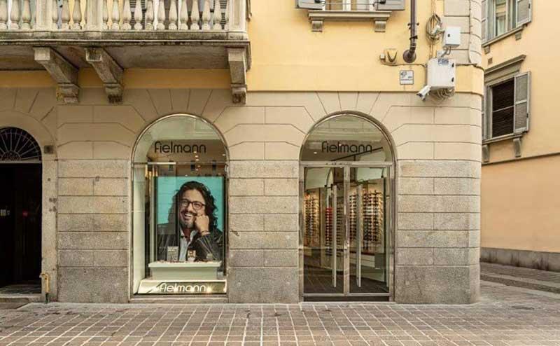 Fielmann ottica negozio Monza
