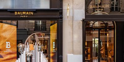BALMAIN apre un flagship store a Parigi.