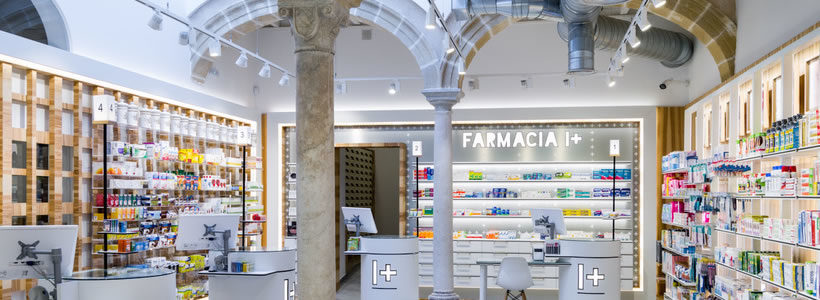 I+ Prada, The Flagship of the Farmacia I+ chain