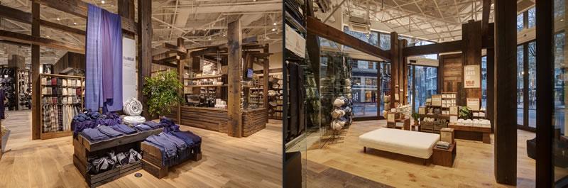 store design Muji Portland