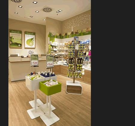 nuovo concept store di BOTTEGA VERDE
