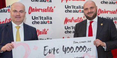 I Centri Commerciali e Croce Rossa Italiana insieme  vincono la gara della solidarietà.