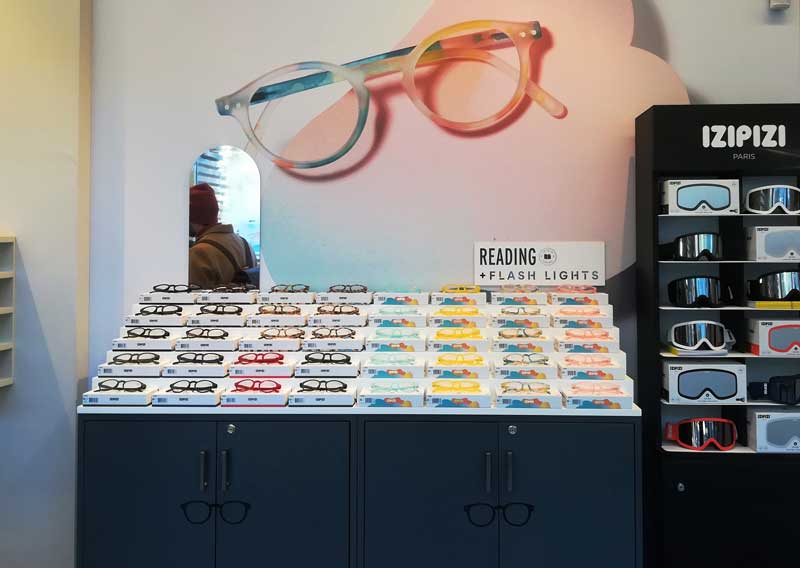 Eyewear retail e visual merchandising