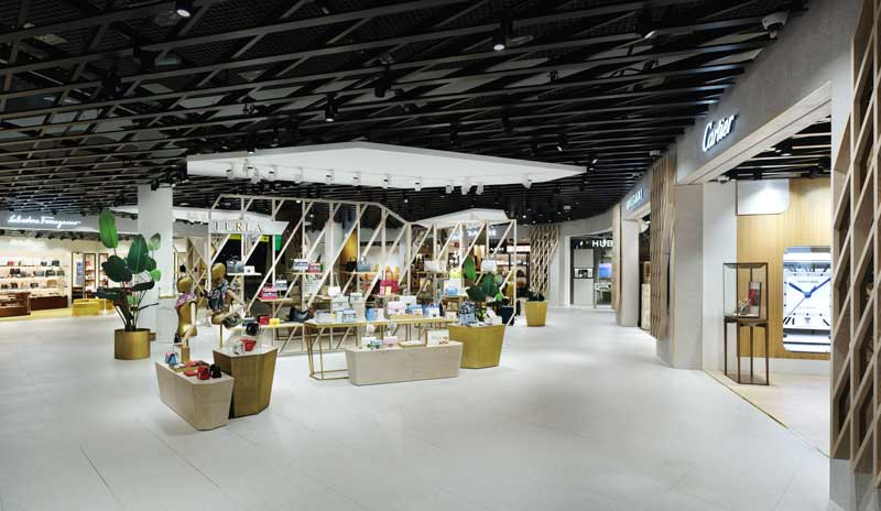 plajer & franz studio Multibrand Store for Travel Retail