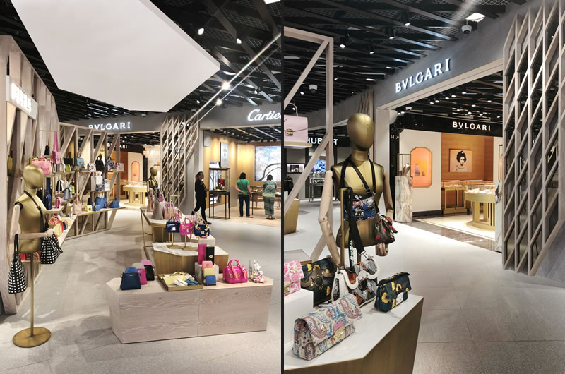 plajer & franz studio Multibrand Store for Travel Retail