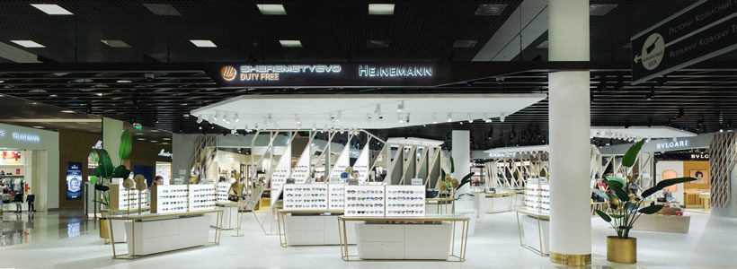 Multibrand Store for Travel Retail.