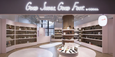 Boutique GOOD SHOES, GOOD FOOT, by Regal – Tokyo.