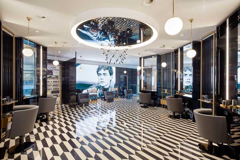 Studio Sheridan&Co progetto interior design profumerie Douglas