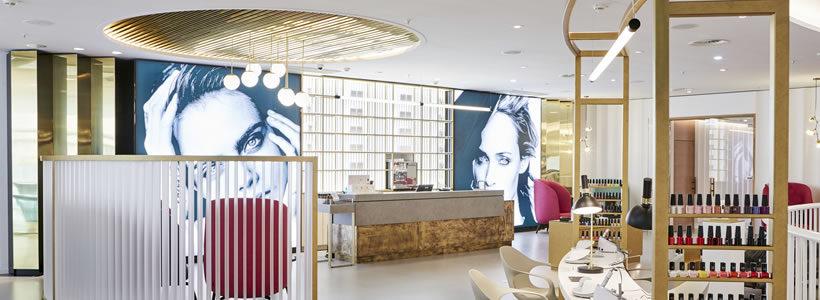 Douglas luxury flagship store, Frankfurt.