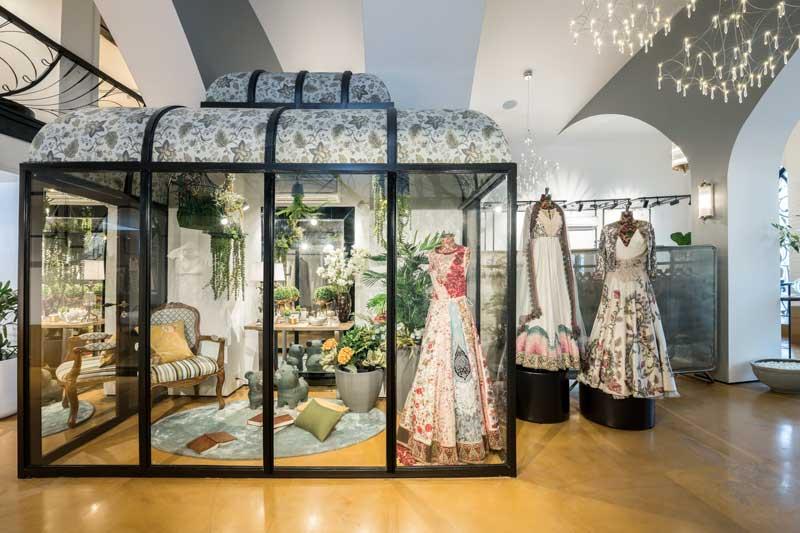 progetto per la boutique Varun Bahl