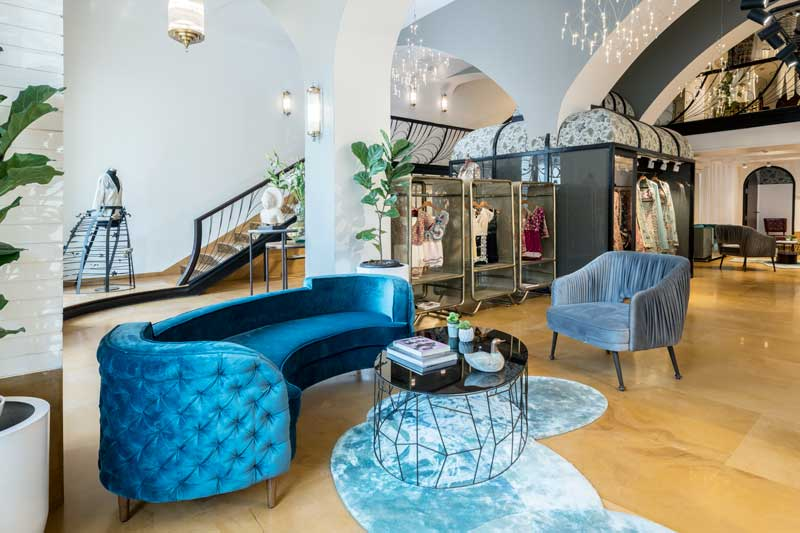 MuseLAB designed the Varun Bahl flagship store