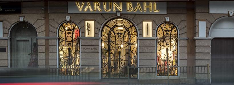 VARUN BAHL Flagship Store Mumbai.