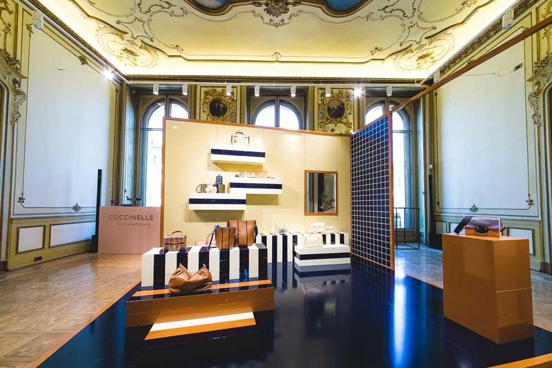 Coccinelle nuovo showroom Milano