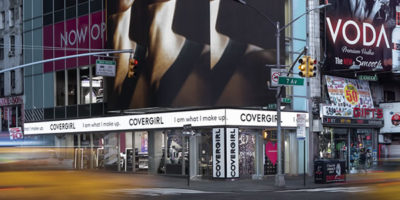 Covergirl Cosmetics  Flagshipstore, New York.