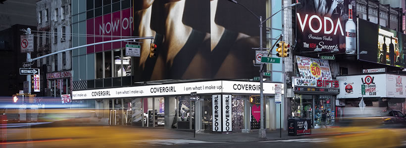 COVERGIRL Times Square Flagship Store.