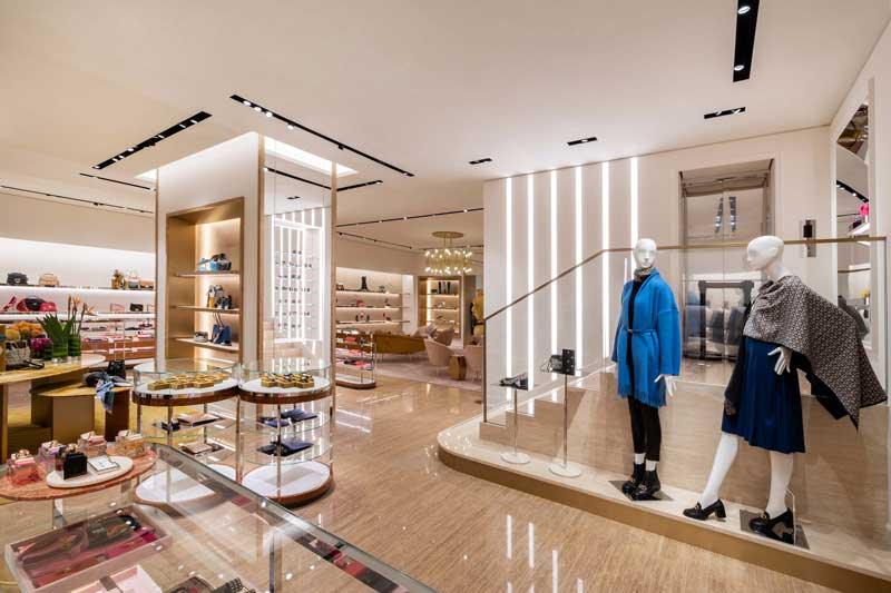 Salvatore Ferragamo global flagship in Beijing at the China World