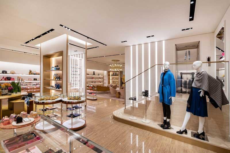 nuovo flagship store Salvatore Ferragamo China World Pechino