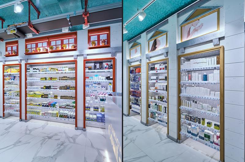 Marketing-Jazz restyling Farmacia Comtal