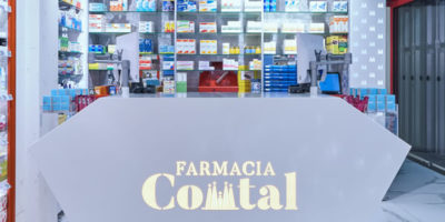 Marketing-Jazz progetta la Farmacia Comtal di Barcellona.