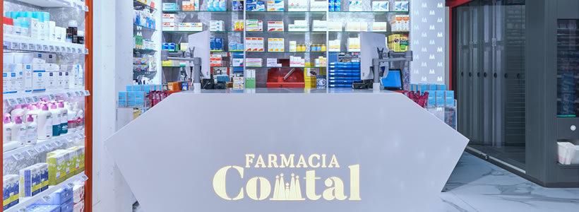 Marketing-Jazz progetta la Farmacia Comtal di Barcellona.