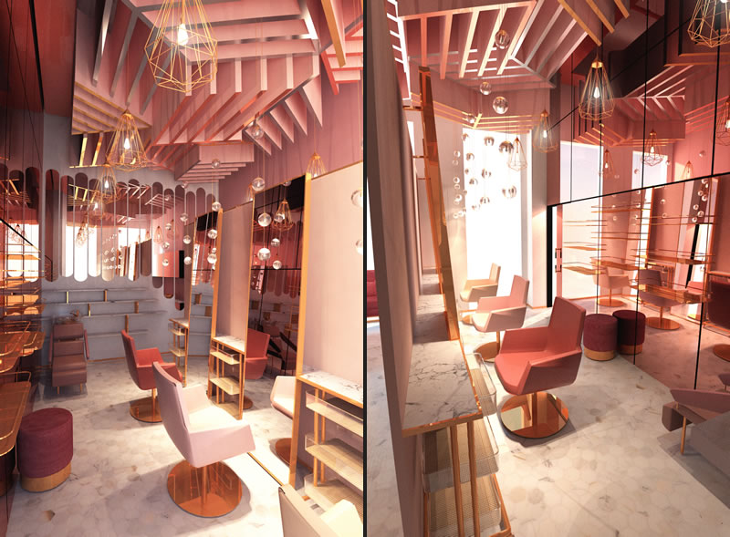 Pink Confessions Nail & Hair Studio Doha designers Tulimond
