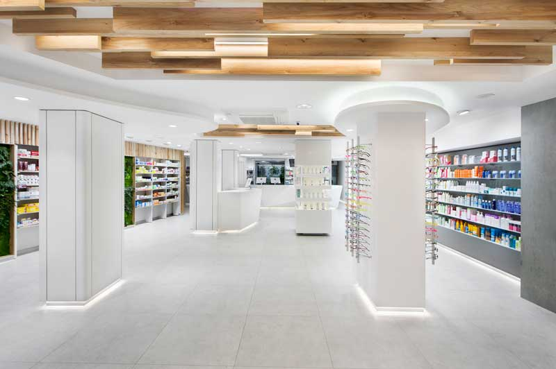 progetto farmacia Beatriz Domenech Joan Albert A4 Estudio