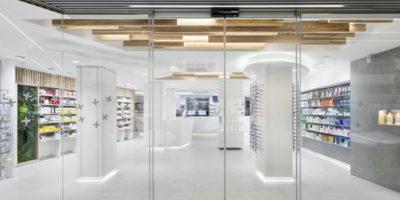 Progetto per la Farmacia BEATRIZ DOMENECH di Valencia.