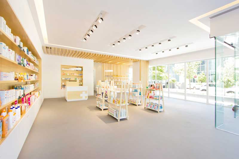 Estudio Amasl pharmacy design