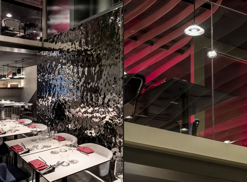 Otivm restaurant from an idea of N+M Design Studio