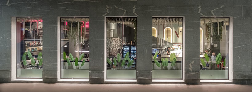 In the heart of Milan rises OTIVM, a 400 sqm restaurant.