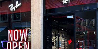 RAY-BAN: primo negozio monomarca a Verona