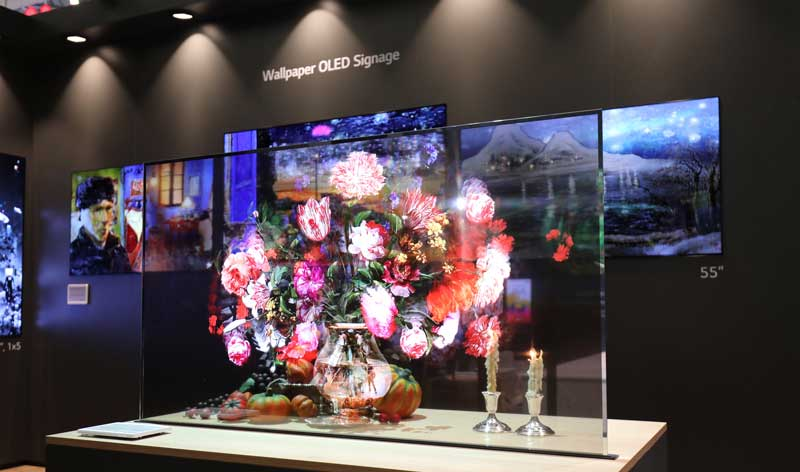 display oled transparent di lg electronics