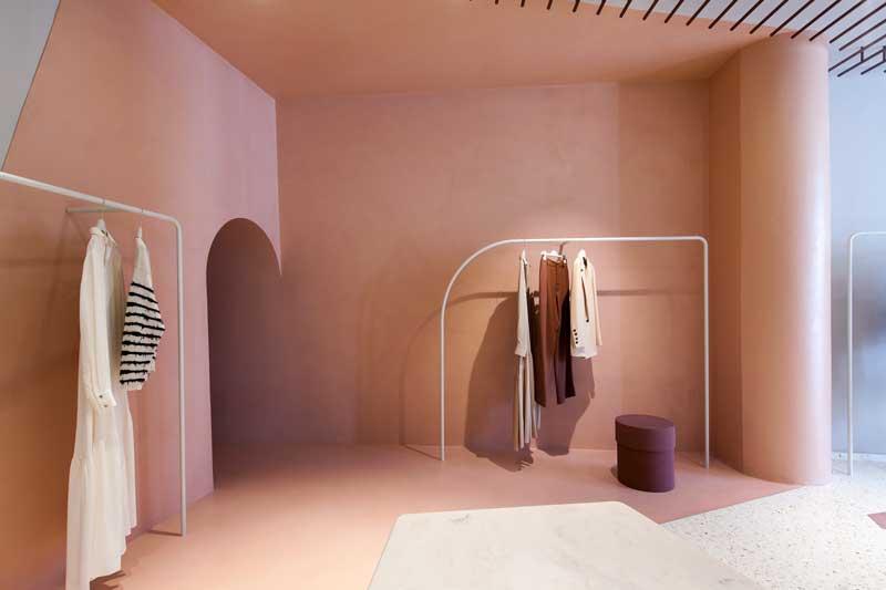 boutique Alysi di Milano progettata da Studiopepe