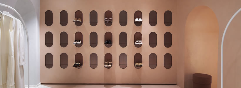 Studiopepe designed the Alysi boutique in Milan.