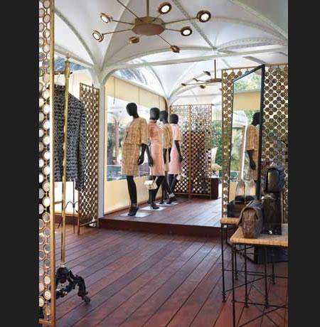 Chanel Temporary Store Capri