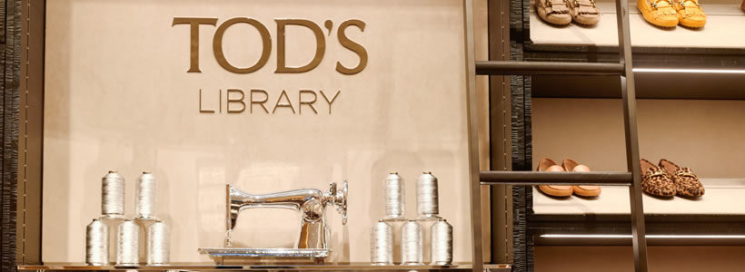 La prima boutique TOD'S LIBRARY apre a New York.