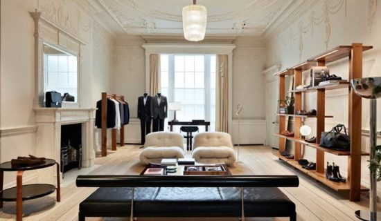 BRIONI riapre il flagship store di Londra.
