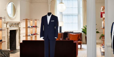 Brioni reopens the doors to its iconic London flagship.
