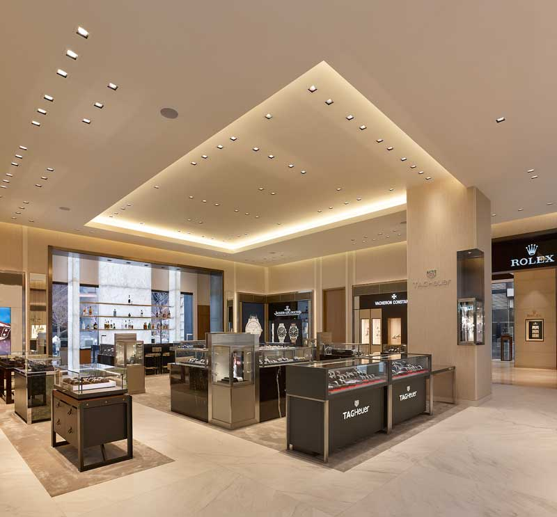 CAPELO and MNA design New York flagship store for Watches of Switzerland