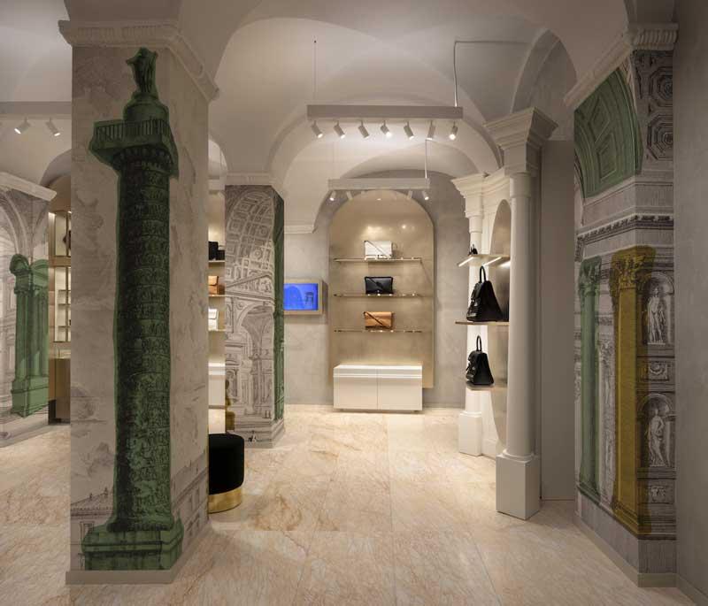 Vudafieri-Saverino Partners concept Delvaux Roma