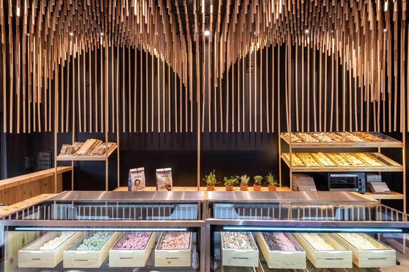 PICCA pasta retail store EFEEME Arquitectos