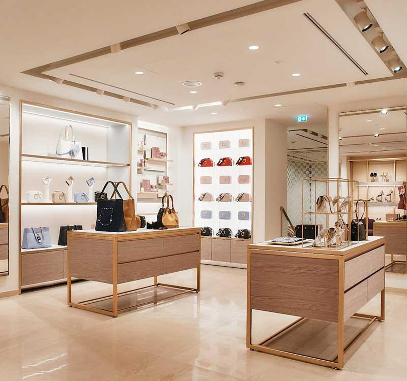 Furla flagship store Monaco Baviera