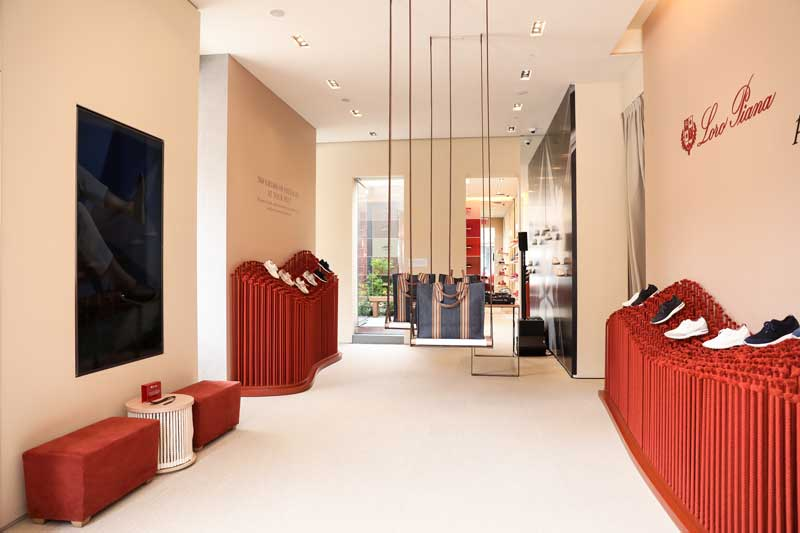 Loro Piana pop-up store Manhattan New York