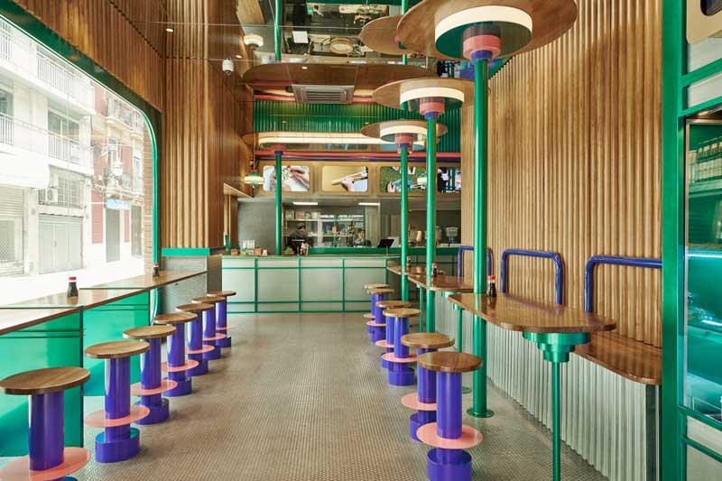 Masquespacio presents the last design created for Kento Shop