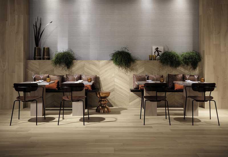 Nest collezione per pavimenti di Fap ceramiche